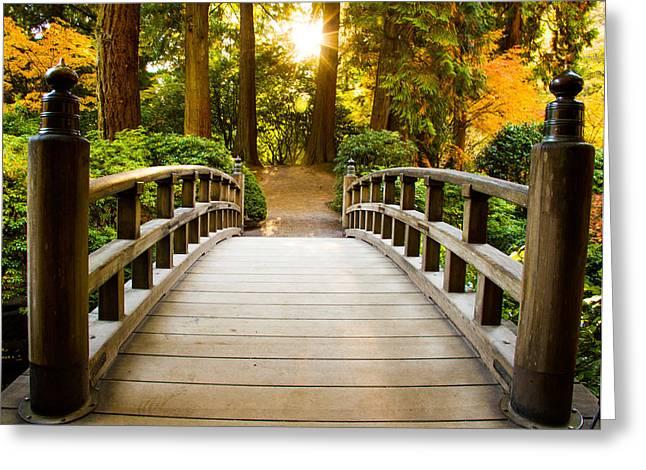 Path To Wisdom Greeting Card