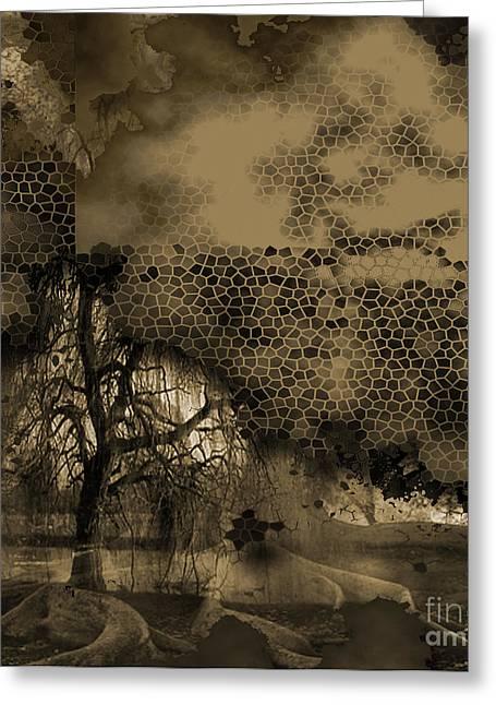 Path Greeting Card by Yanni Theodorou
