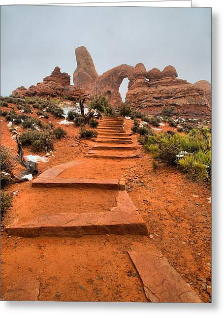 Pathway To Portals Greeting Card