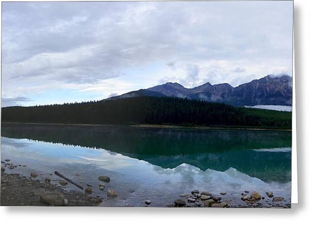 Patricia Lake Pan Greeting Card