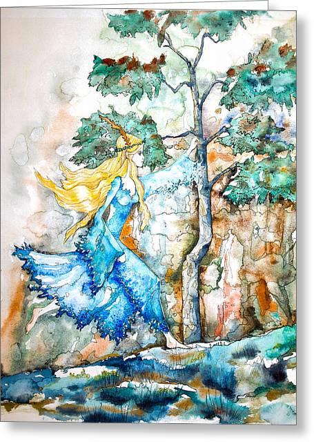 Patricia Greeting Card by Patricia Allingham Carlson