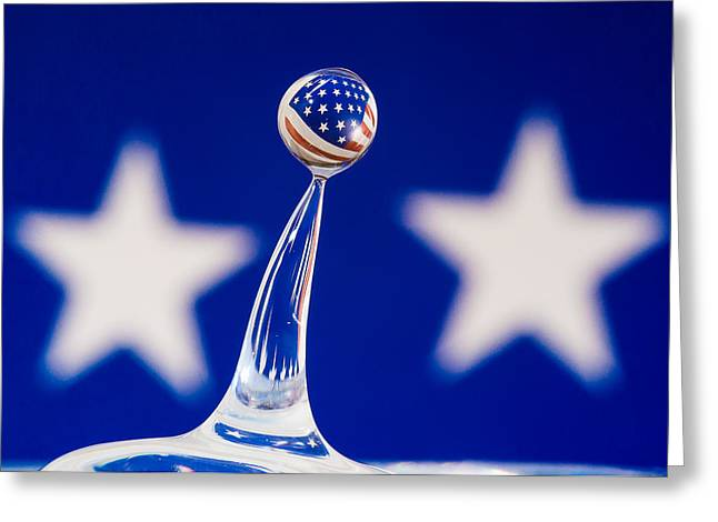Patriotic Pop Greeting Card