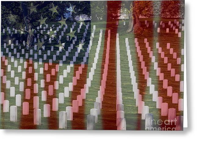 Patriotism Greeting Card by Patti Whitten