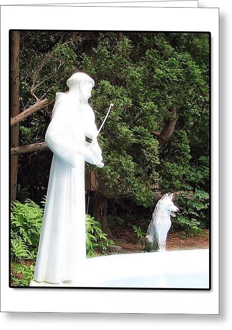 Patron Saint Of Animals Greeting Card