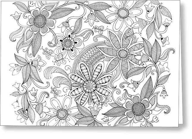 Pattern 3 Greeting Card