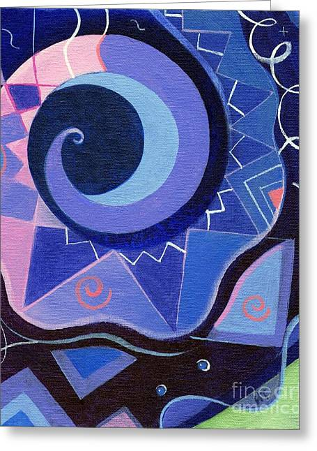 Pattern Power 2 Greeting Card by Helena Tiainen