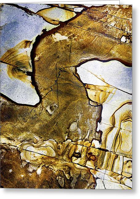 Patterns In Stone - 153 Greeting Card by Paul W Faust -  Impressions of Light
