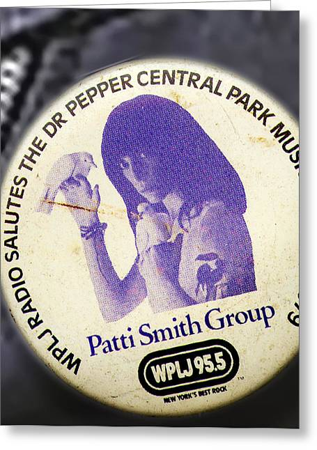 Patti Smith '79 Greeting Card