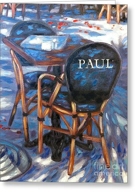 Paul Bakery And Cafe Greeting Card