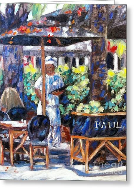 Paul Bakery Greeting Card