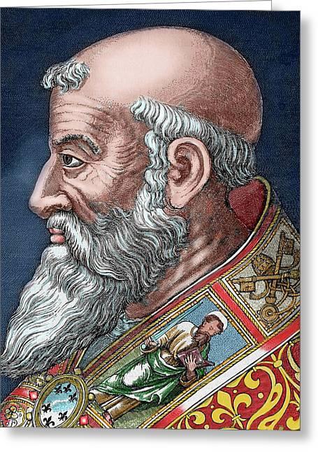 Paul IIi (rome, 1468-canino, 1549 Greeting Card by Prisma Archivo