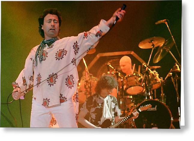 Paul Rodgers - The Firm Greeting Card