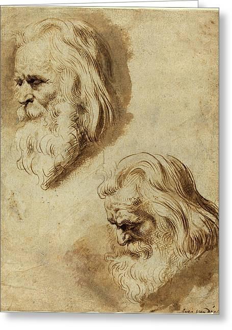 Paulus Pontius After Sir Peter Paul Rubens Greeting Card