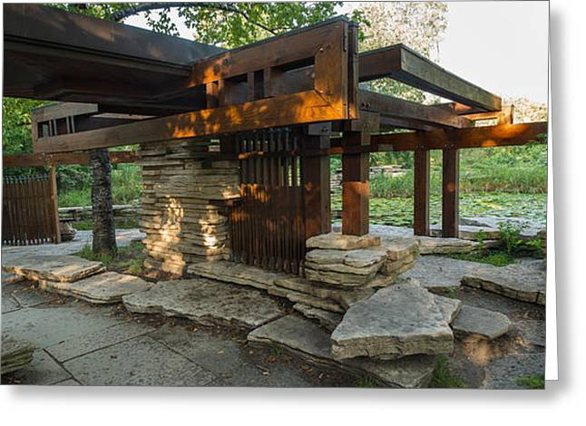 Pavillion In Caldwell Lily Pond Greeting Card
