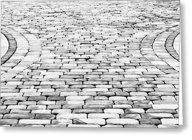 Paving Stones Greeting Card
