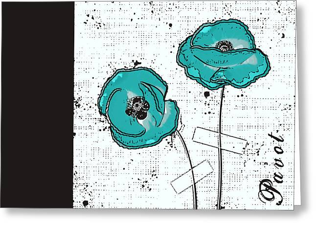 Pavot - S05-02a Greeting Card