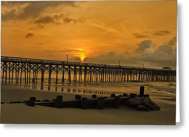 Pawleys Island Sunrise Greeting Card by Bill Barber
