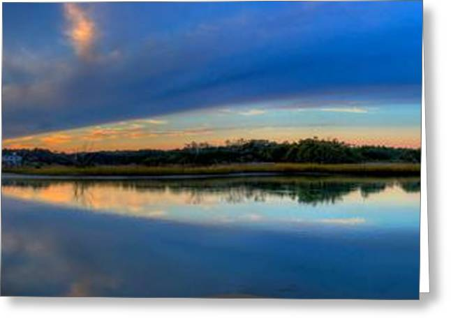 Pawlwys Island Sunset Greeting Card by Ed Roberts