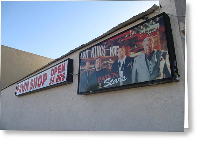 Pawn Stars Greeting Card by Kay Novy