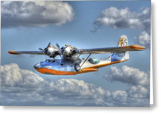 Pby 2 Greeting Card