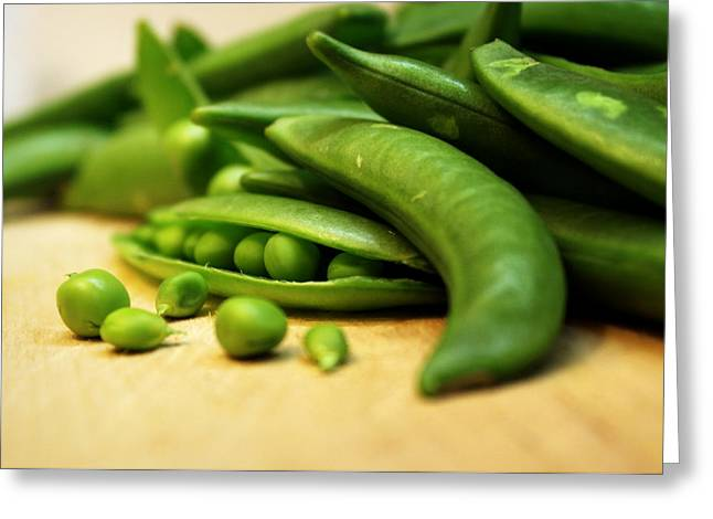 Pea Pods Greeting Card