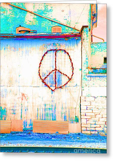 Greeting Card featuring the photograph Peace 1 by Minnie Lippiatt