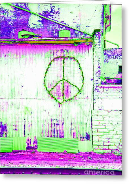 Greeting Card featuring the photograph Peace 2 by Minnie Lippiatt