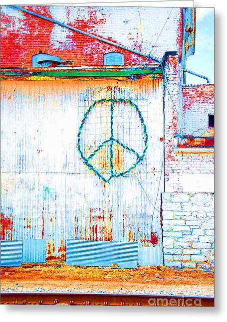 Greeting Card featuring the photograph Peace 3 by Minnie Lippiatt