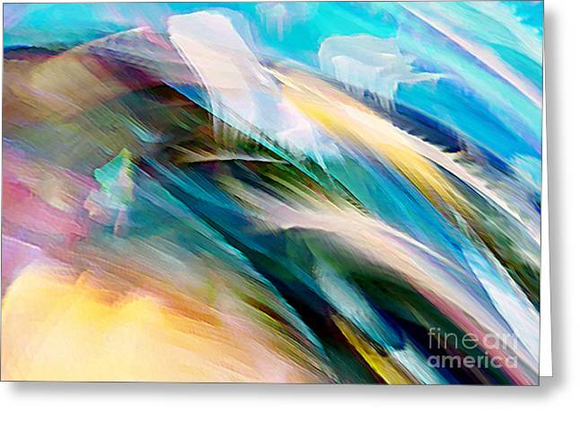 Greeting Card featuring the digital art Peace And Calm by Margie Chapman