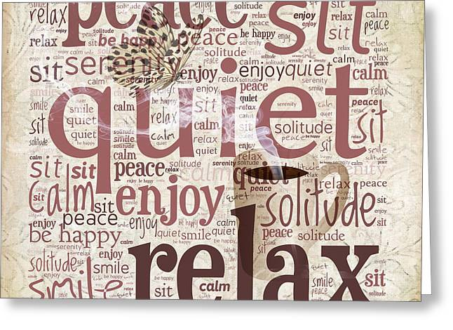 Peace And Quiet Greeting Card