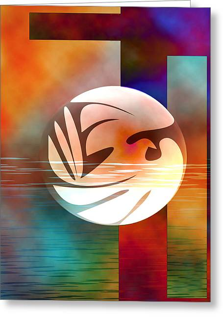 Peace Dove Greeting Card by Bruce Manaka