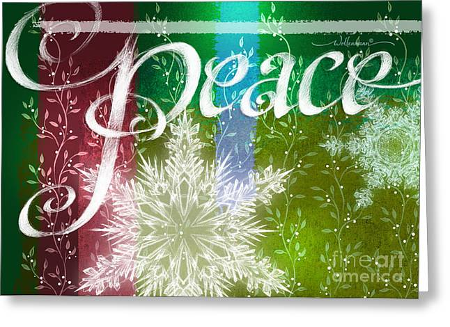 Peace Greeting Greeting Card