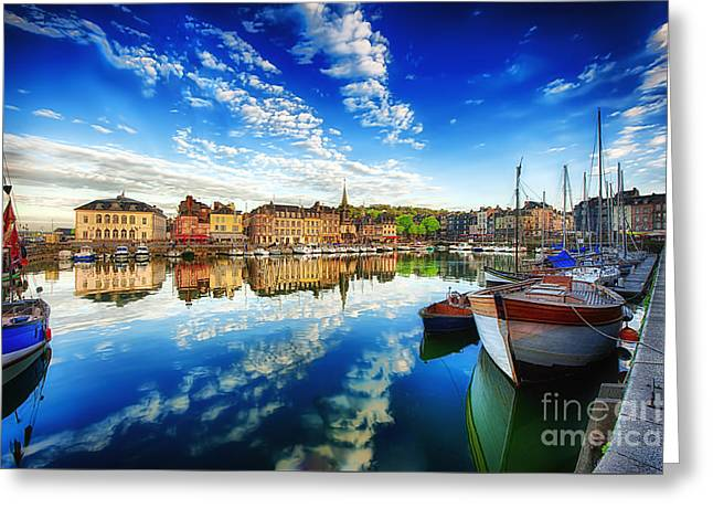 Peace Honfleur Greeting Card