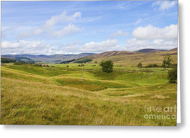 Peace In Glen Clova Greeting Card