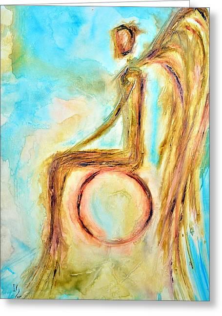 Peace Greeting Card by Ivan Guaderrama
