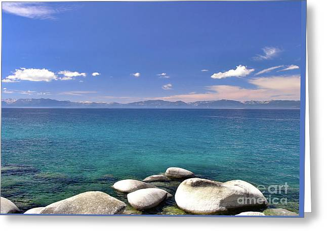 Peace - Lake Tahoe Greeting Card