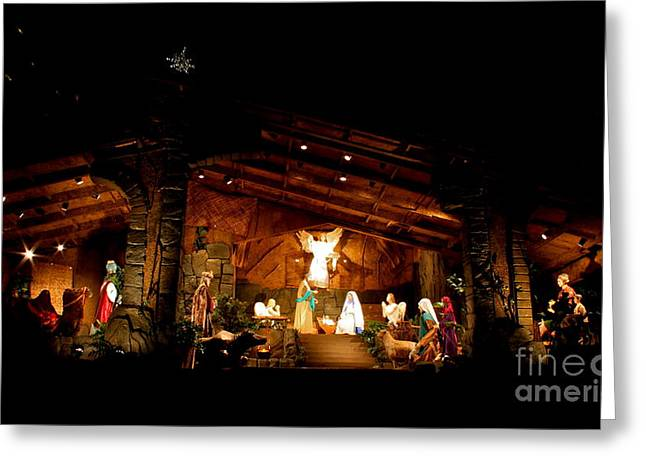 Peace On Earth Greeting Card by Jay Nodianos