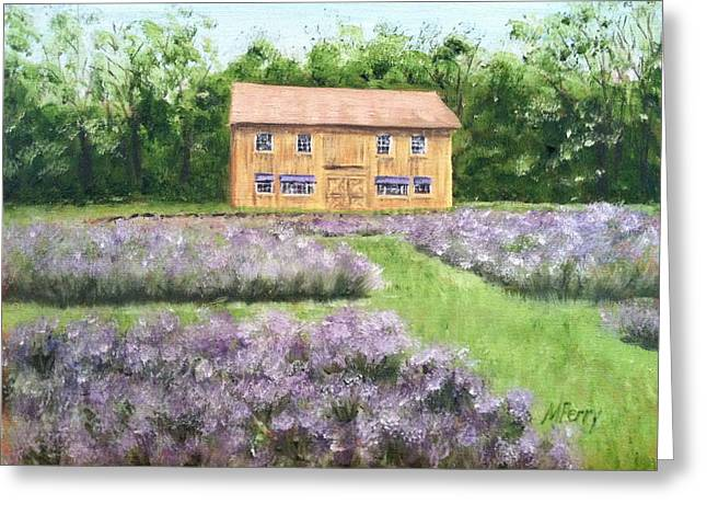 Peace Valley Lavender Farm Greeting Card