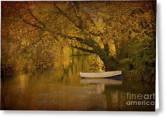 Peaceful Backwater Greeting Card