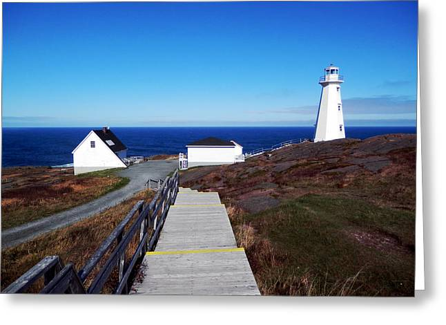 Peaceful Day At Cape Spear Greeting Card