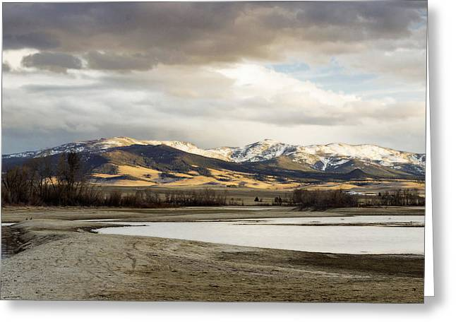 Peaceful Day In Helena Montana Greeting Card by Dana Moyer