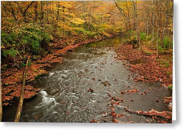 Peaceful Fall Greeting Card