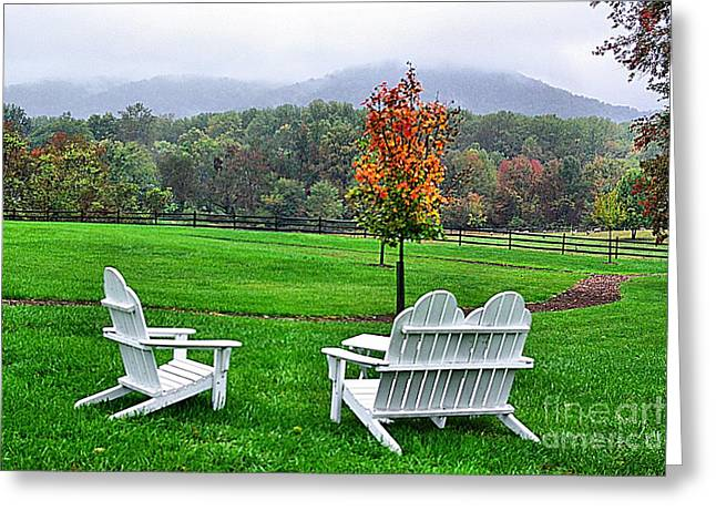 Greeting Card featuring the photograph Peaceful Spot  by John S