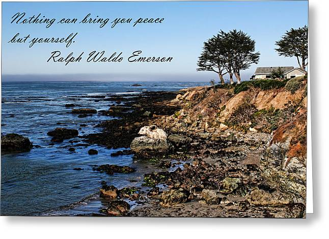 Peaceful Living Greeting Card