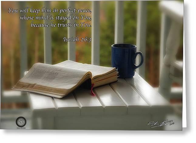 Peaceful Morning Greeting Card