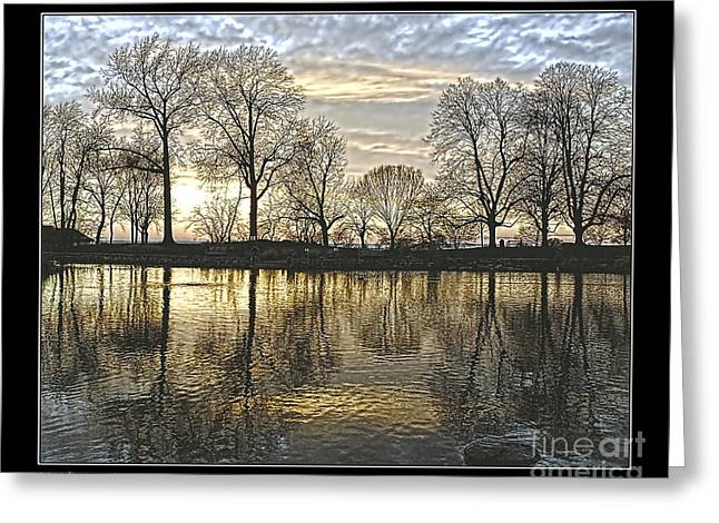 Peaceful Place Greeting Card by Pedro L Gili