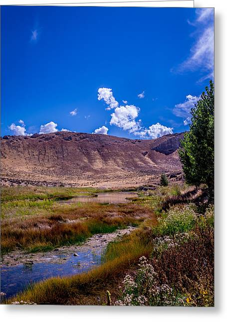 Peaceful Valley II Greeting Card