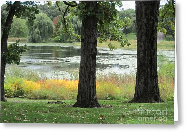 Peaceful Water Greeting Card