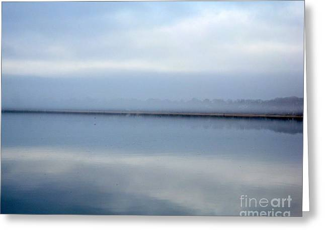 Greeting Card featuring the photograph Peaceful Waters by Robert Riordan