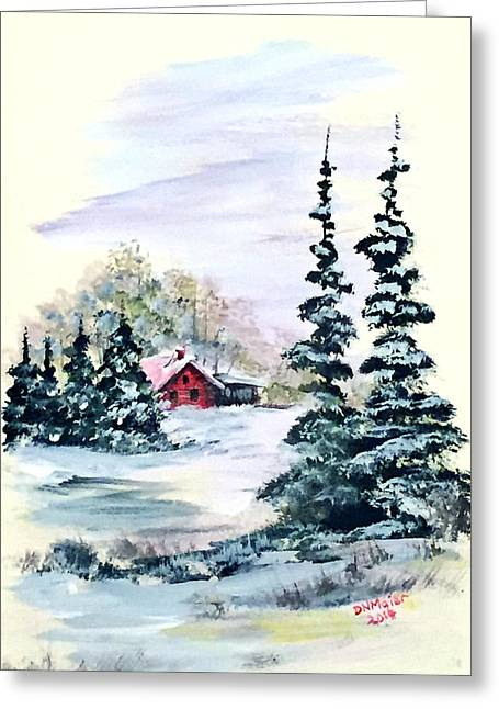 Peaceful Winter Greeting Card